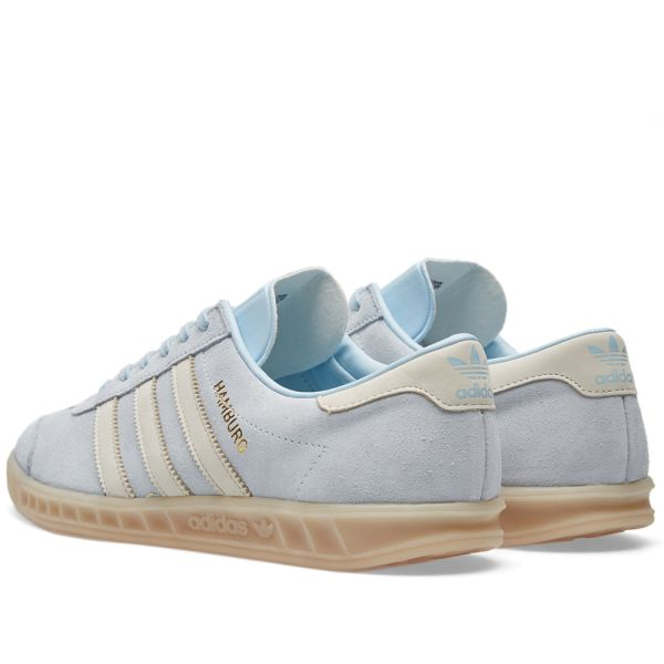 esponja realeza Perceptivo  Adidas Women's Hamburg W Ice Blue & Gum | END.