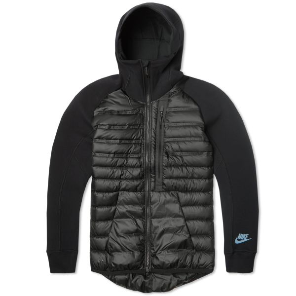 un acreedor Rugido Loza de barro  Nike Tech Fleece Aeroloft Jacket Black | END.