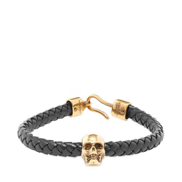 Alexander McQueen Leather Skull