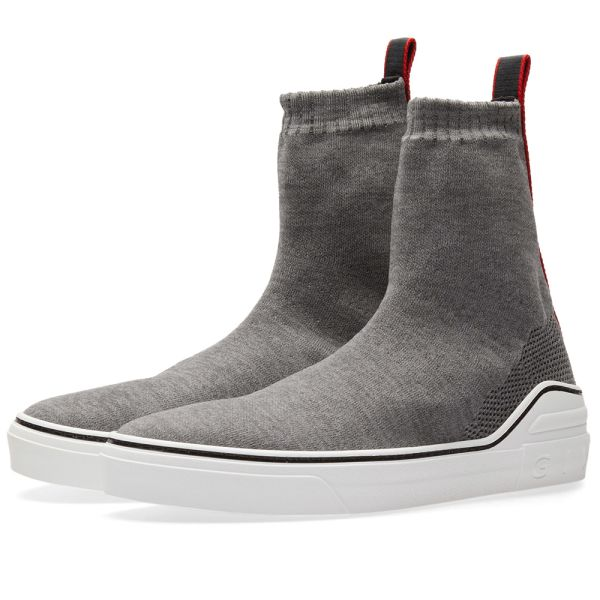Givenchy George V Mid Sock Sneaker Grey