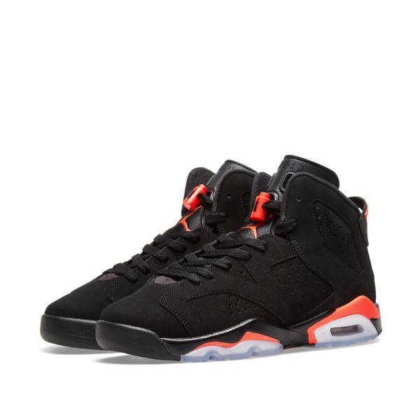 Air Jordan 6 Retro BG Black \u0026 Crimson