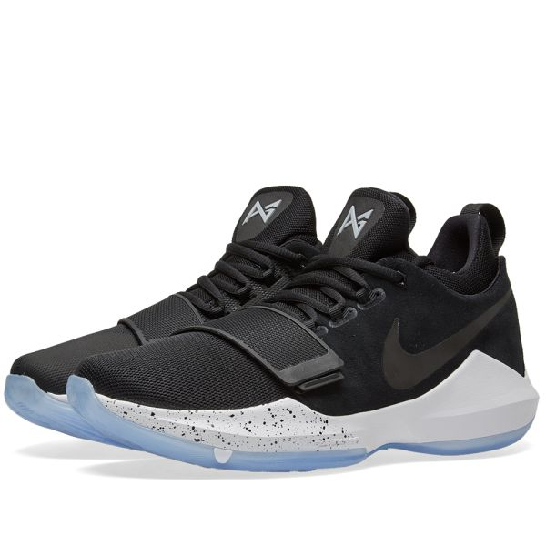 Nike PG 1 GS Paul George Youth Basketball Shoes 4.5 Black