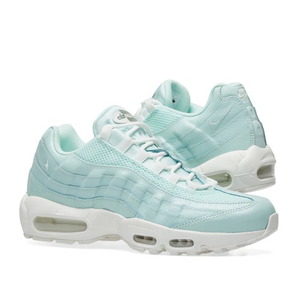 Apariencia Dar a luz No esencial  Nike Air Max 95 Premium W Igloo, Summit White & Green | END.
