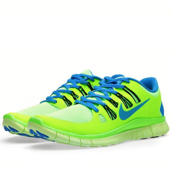 Atento reforma bufanda  Nike Free 5.0+ Flash Lime | END.