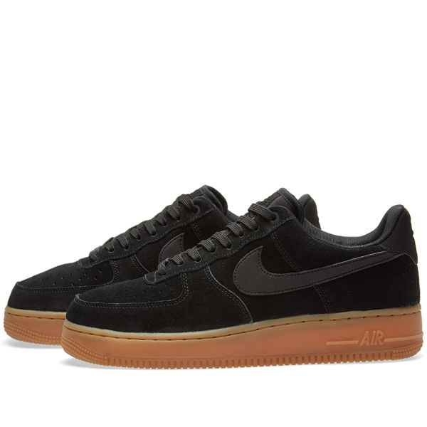 Nike Air Force 1 '07 LV8 Suede Trainers AA1117 200 | Brown