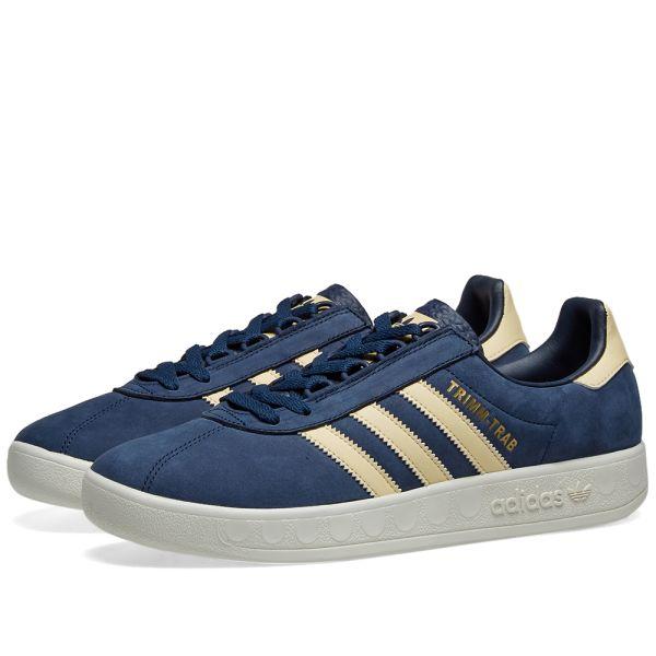 adidas Trimm Trab (blau orange)   43einhalb Sneaker Store