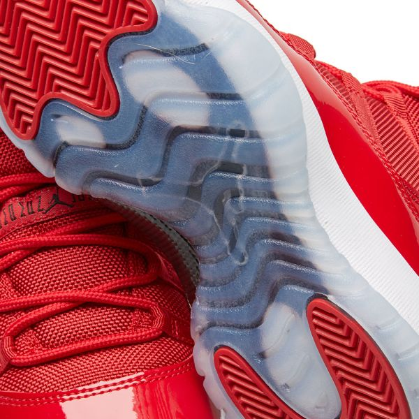 Nike AIR JORDAN 11 RETRO BG Gym Red Black White