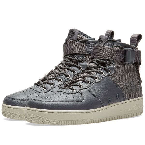 NIKE W SF AIR FORCE 1 LIGHT BONE LIMITED EDITION SNEAKERS