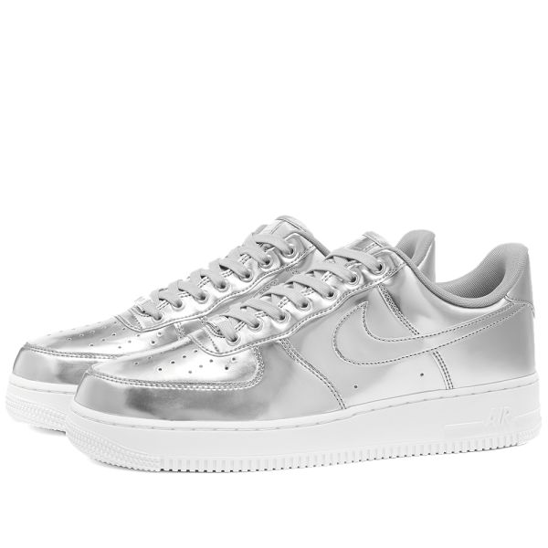 Women's Air Force 1 Metallic 'Chrome' Release Date. Nike