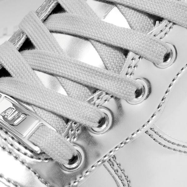 Nike Air Force 1 Sp W Chrome Silver White End