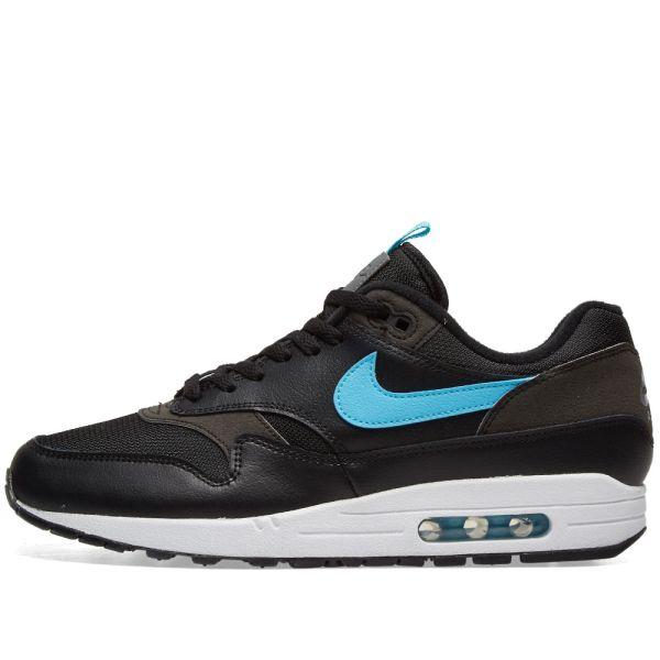 Nike Air Max 1 SE Black \u0026 Blue Fury | END.