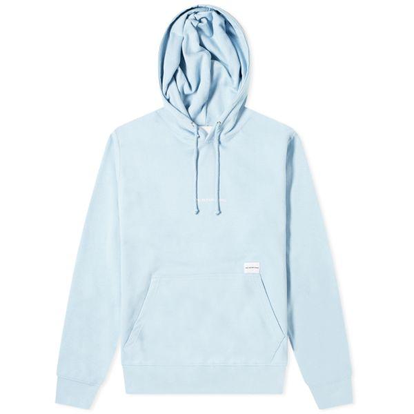 mki embroidered logo hoody light blue end mki embroidered logo hoody