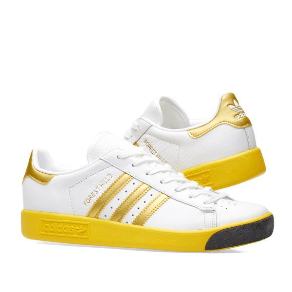 Adidas Forest Hills White, Gold