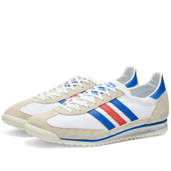 judío evaporación solar  Adidas SL 72 OG White, Glory Blue & Glory Red | END.