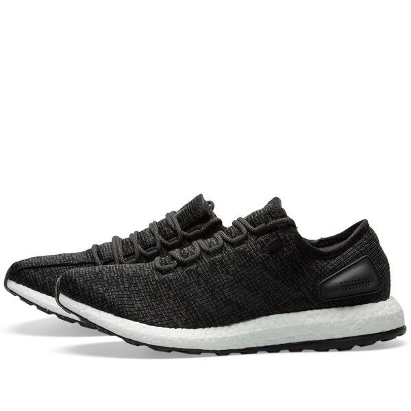Adidas Pureboost Men's Running Shoes Black White Ba8899