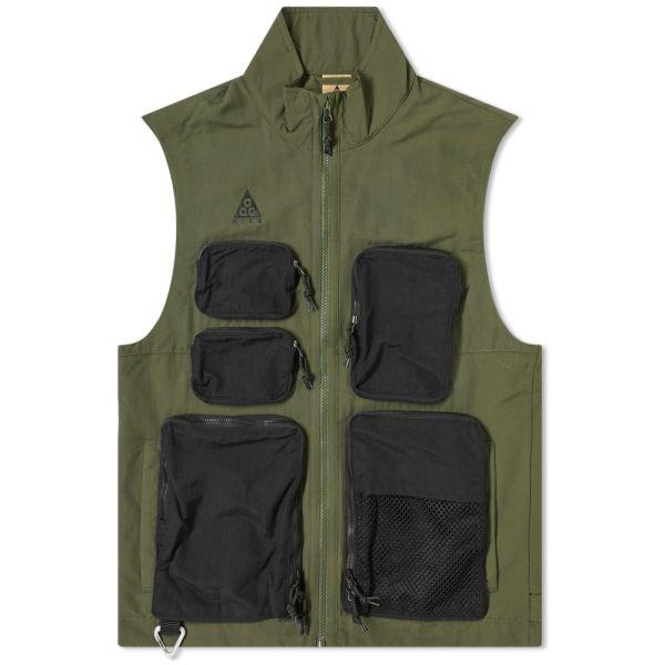 Nike Acg Vest Cargo Khaki Black End