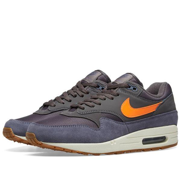 air max 1 grey white orange