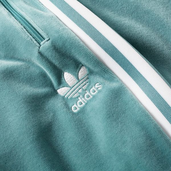 TRACK JACKET COZY TRACK TOP VAPOUR STEELWHITE
