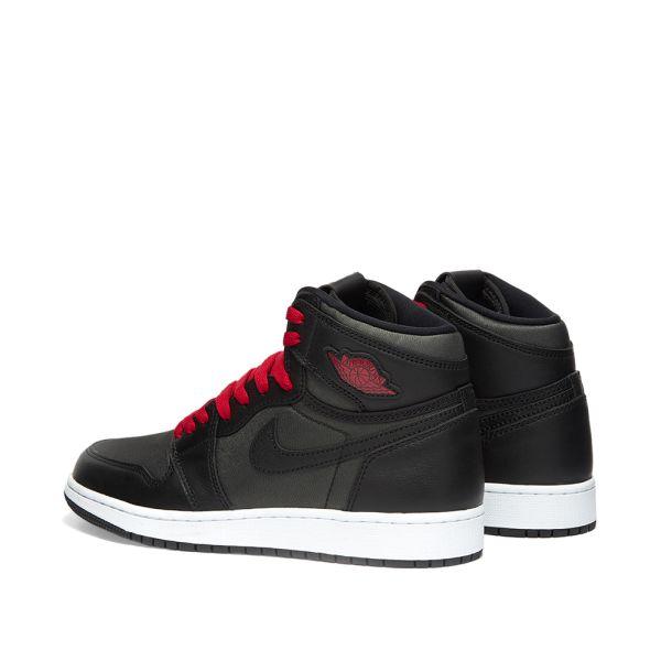 Luminance solo mini  Air Jordan 1 Retro High OG GS Black, Gym Red & White | END.
