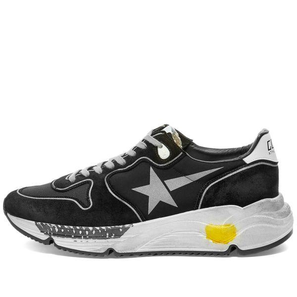 Golden Goose Running Sole Sneaker Black