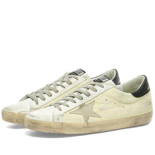 golden goose leather sneakers