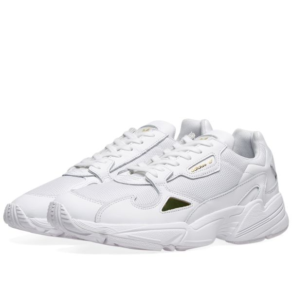 Blanco Asumir Refrescante  Adidas Falcon W White & Gold Metallic | END.