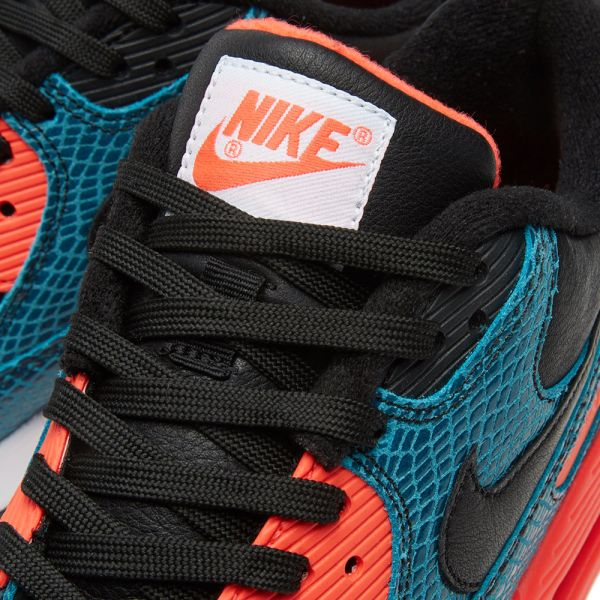 Nike Air Max 90 25th Anniversary Black Infrared & Dusty