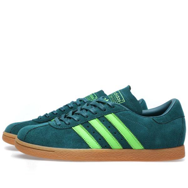 Adidas Tobacco Rich Blue \u0026 Neon Green
