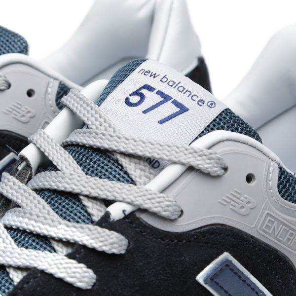 La forma vertical Influencia  New Balance M577ANN - Made in England '25th Anniversary' Navy | END.