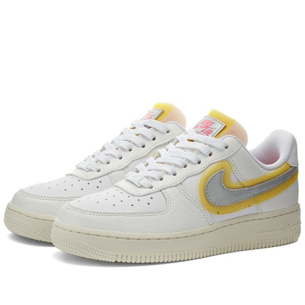 Nike Air Force 1 07 W White, Silver