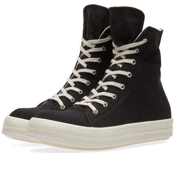Rick Owens DRKSHDW Vegan Sneaker Black