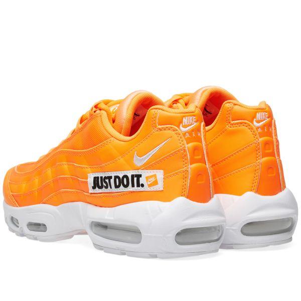 nike air max 95 se just do it orange
