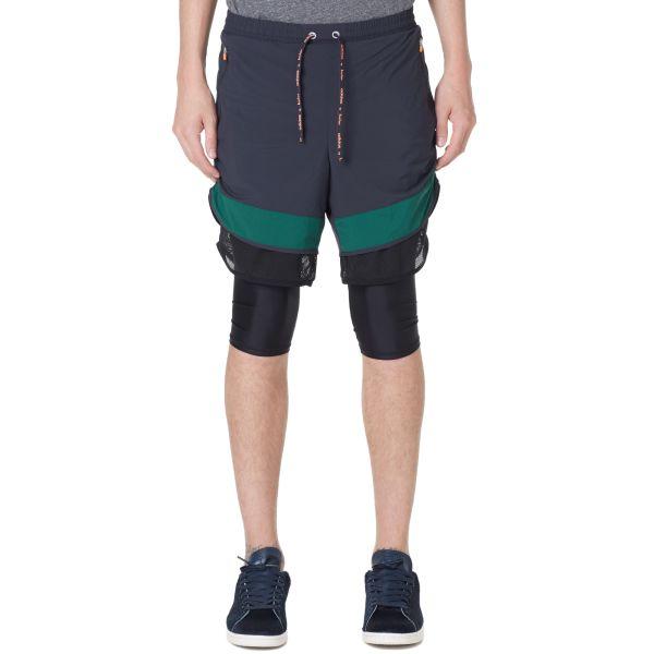 adidas shorts green night