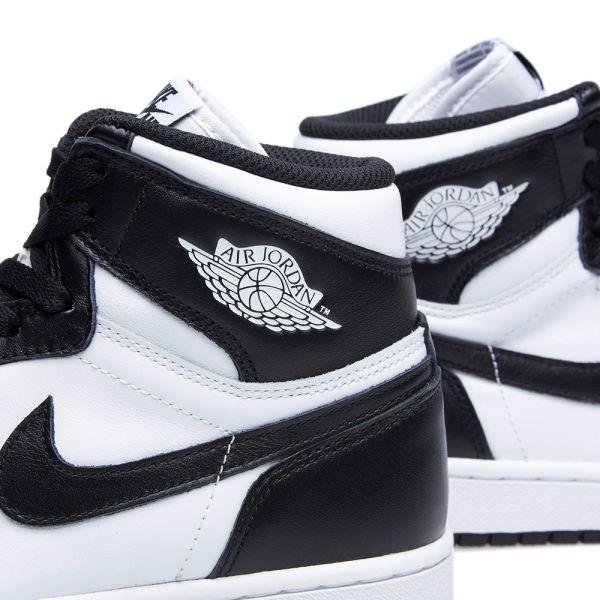 black and white jordans