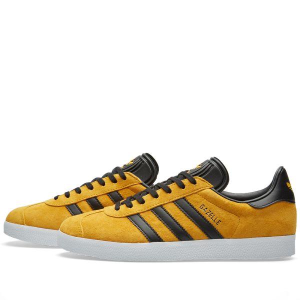 Adidas Gazelle Collegiate Gold \u0026 Black