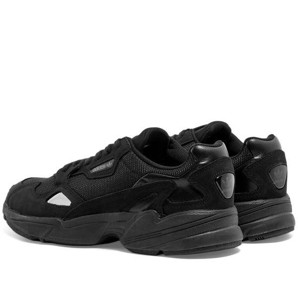 Adidas Falcon W Black \u0026 Grey   END.