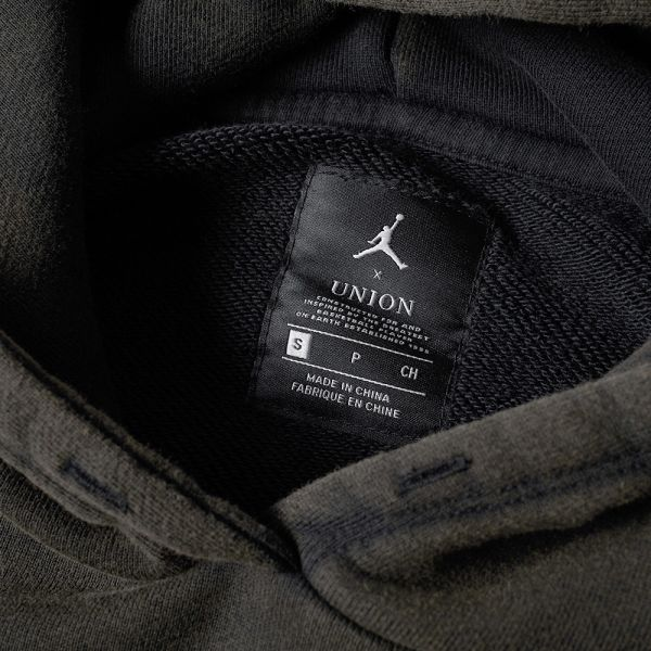 cozy fresh entire collection new authentic Air Jordan x Union Vault Flight Hoody