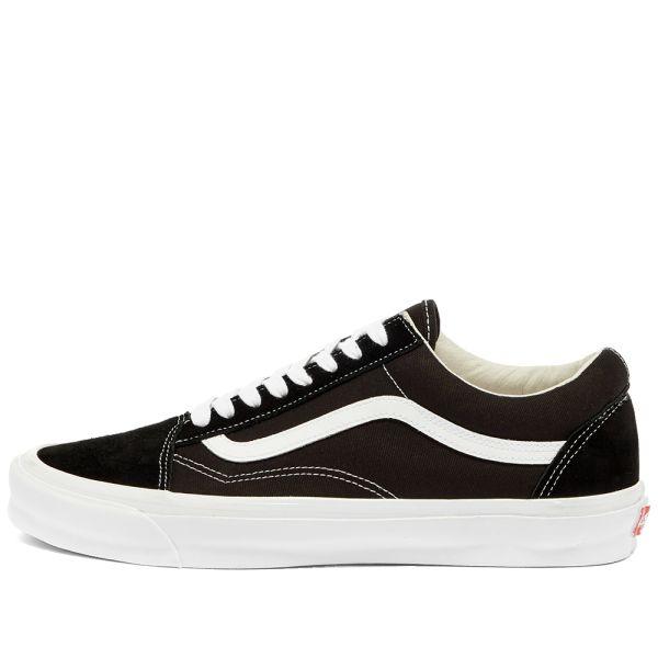 Vans Old Skool Skate Shoes, UK 10 BlackWhite