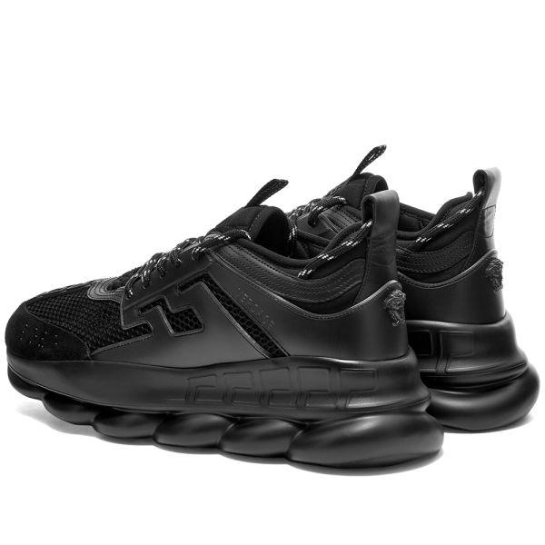 Versace Chain Reaction Sneaker Black   END.