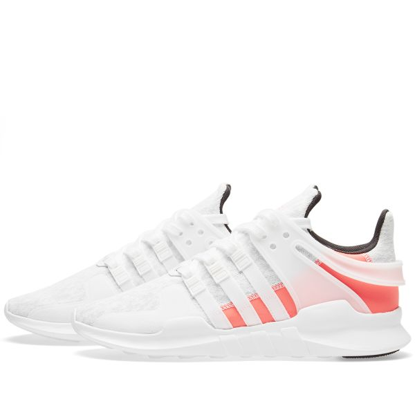 Adidas EQT Support ADV Crystal White & Turbo   END.