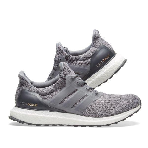 Adidas Ultra Boost 3.0 Grey \u0026 Dark Grey