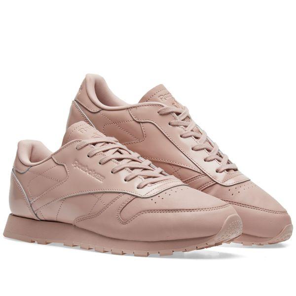 Molestia Danubio pozo  Reebok Classic Leather IL W Shell Pink | END.