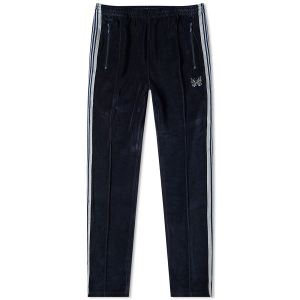 Needles Velour Track Pant Navy End
