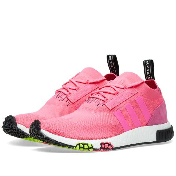 Adidas NMD Racer Primeknit Rosa Herren