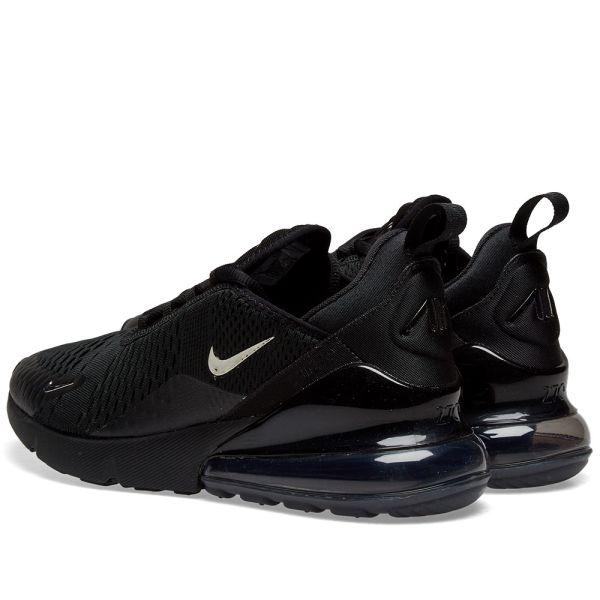 Nike Air Max 270 Black, Chrome \u0026 Pure