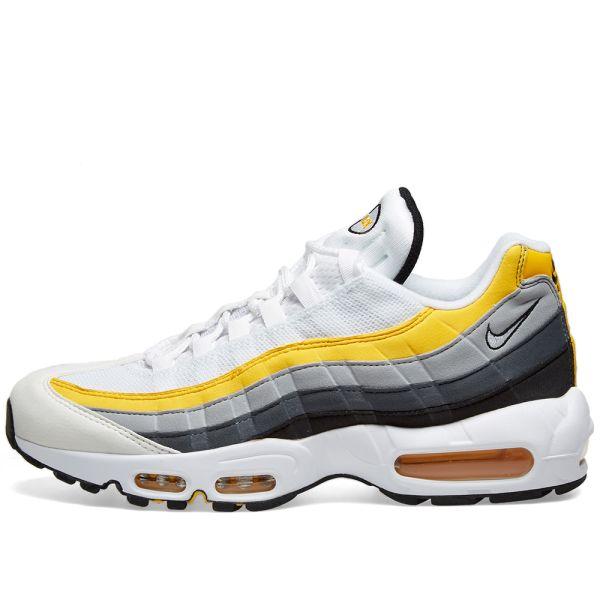 nike air max 95 yellow and grey