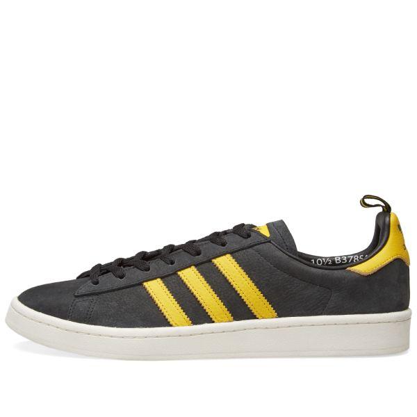 adidas Campus (black yellow) B37854 | 43einhalb Sneaker