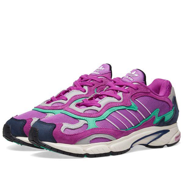 Adidas Temper Run Shock Purple \u0026 Glow