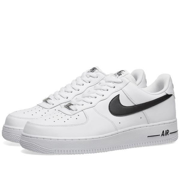 nike air force 1 07 white black
