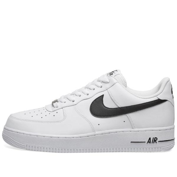 Nike Air Force 1 '07 White \u0026 Black | END.
